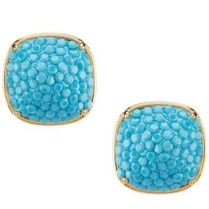 Kate Spade Turquoise Crystal Earrings